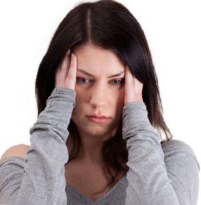 Severe Headache.