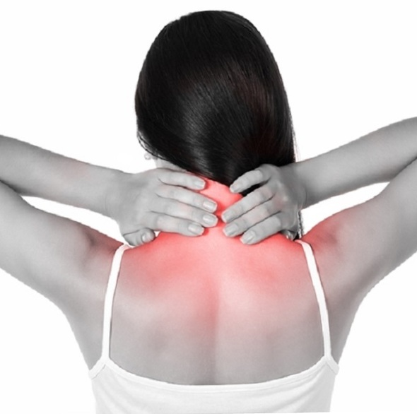 Cervical spine injury.