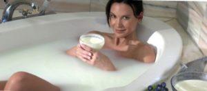 For vitality and health baths.