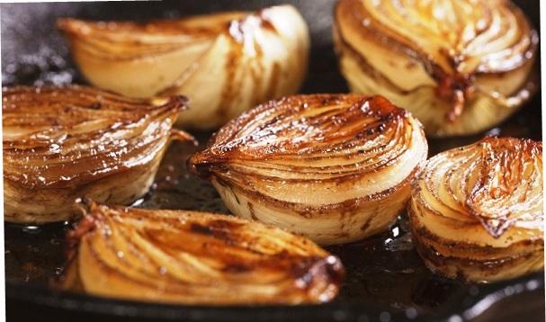 Onion against barley.